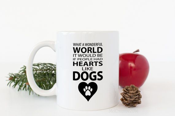 Dog Coffee Mug  Funny Coffee Mug  Dog Lovers Gift  Gift For