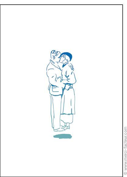 http://www.merci-facteur.com/carte-coeur.html #carte #StValentin #amour #love #Valentinsday #iloveyou #coeur #SanValentin #amor #Jetaime #Tequiero Carte Un couple au trait pour envoyer par La Poste, sur Merci-Facteur !