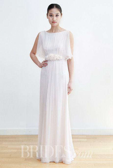 Brides: Leila Hafzi Wedding Dresses - Spring 2016 - Bridal Runway Shows - Brides.com