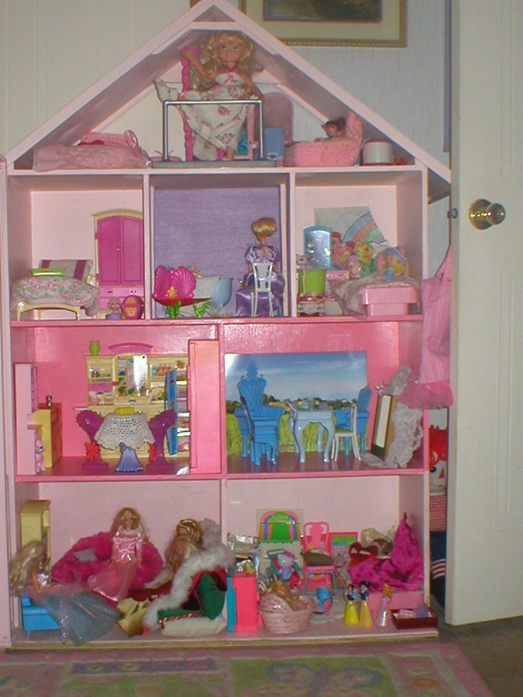 how to make barbie house