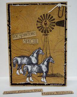 BaRb'n'ShEll Creations-Kaszazz Farmyard Animals, Windmill - BaRb