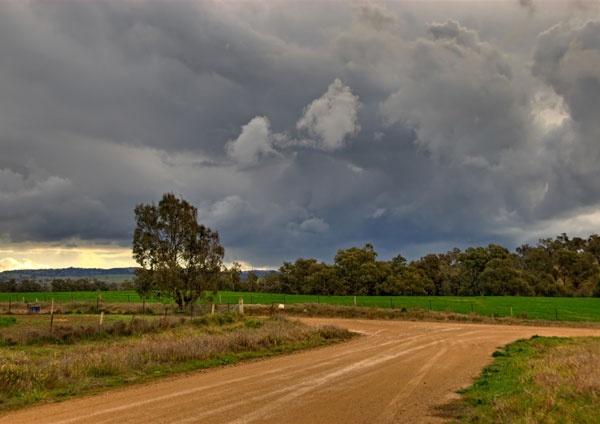 Storm clouds, Cootamundra, NSW