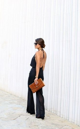buy air jordan  The most wanted flirty jumpsuits out there Find them at shopstyle com Image via seamsforadesire My Style  Jumpsuits Black Jumpsuit and All B
