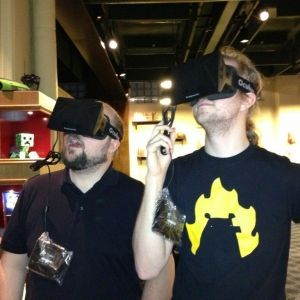 John Carmack makes Notch a promise Minecraft will run greaton Oculus Rift - In order for Oculus Rift to be a success it needs to sell in the millions and become a standard gaming peripheral. Projects like the lightsaber demo by Sixense will certainly help
