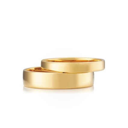 #AustralianMade #WeddingRings! Crescent - Available in many different metal options and lots of different widths.