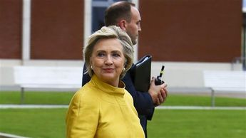 """VIDEO: Hitlery Clinton Booed In Wales. Screams Of """"FASCIST!"""" Can Be Heard As She Exits Her Vehicle"""