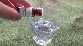 Mettez juste 2 gouttes d'huile essentielle de citron dans un verre d'eau … Ensuite, laissez faire la Nature !