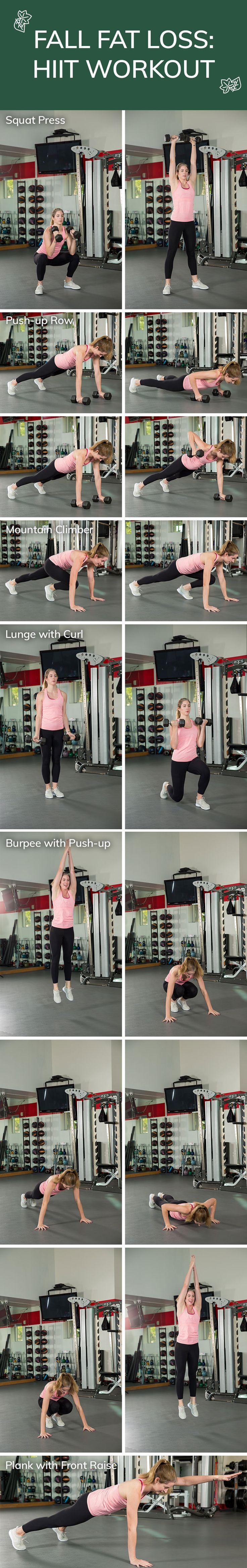 Fall Fat Loss: HIIT Workout
