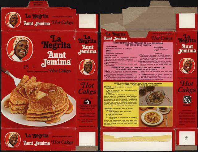 Mexico - Quaker - Aunt Jemima hot cakes mix box - 1970's 1980's | Flickr - Photo Sharing!
