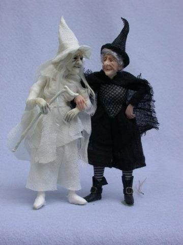 Nancy Cronin miniature dolls