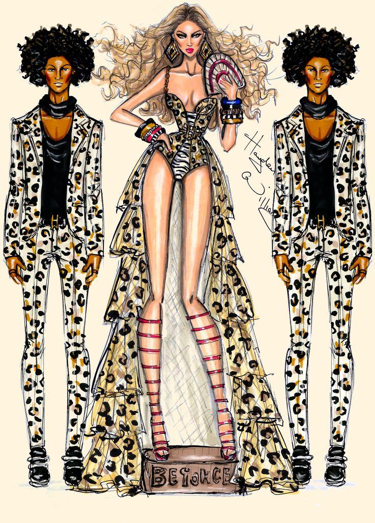 CELEBRITIES ☆ Beyoncé - Grown Woman - Illustration by Hayden Williams
