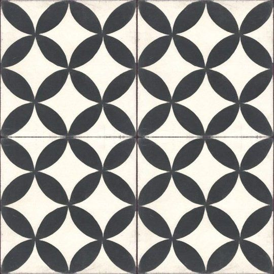 Dramatic Contrast 20 Gorgeous Black White Tile Patterns Pinterest Tiles And Apartment Therapy
