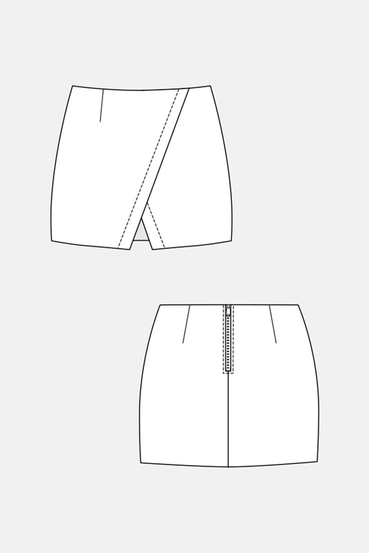 Purchase Named Clothing 04-045 NASCHA MINI SKIRT Downloadable Pattern and read its pattern reviews. Find other Skirts,  sewing patterns.