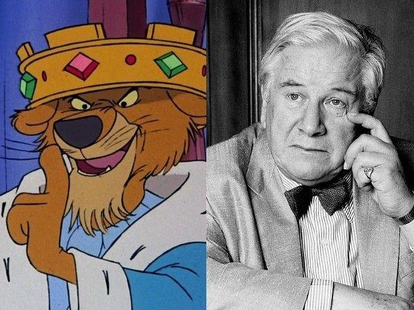 Peter Ustinov Voice of Prince John in Disney´s Robin Hood