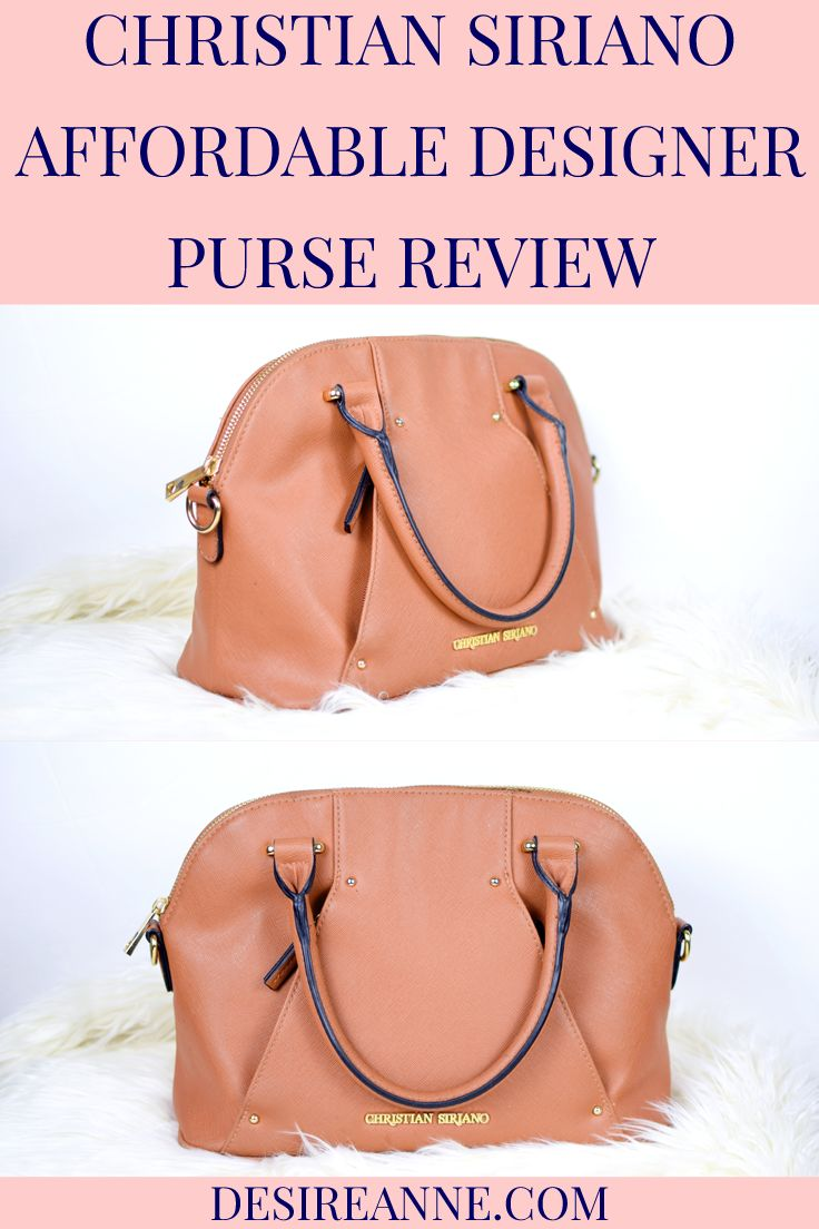 Affordable designer purse by Christian Siriano // a review by Desire Anne, Alabama fashion+beauty blogger ; tags: affordable cheap designer bags, dupes, #style, handbags, #fashionblogger, #ootd