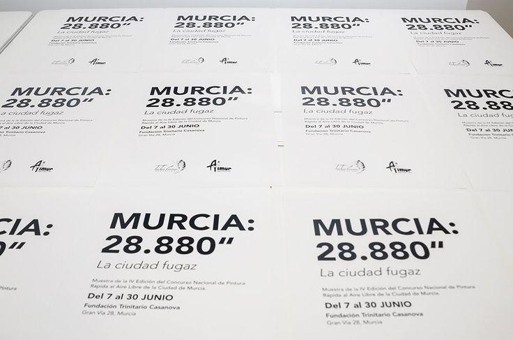 Naming e identidad de la Exposición de Pintura: Murcia 28.880″