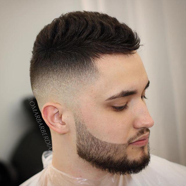 38 Beste Kurzhaarschnitte Fur Manner Mit Bart In 2020 Kurze Haare Kurzhaarschnitte Haare