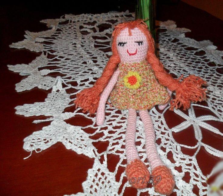 muñeca 2 a ganchillo
