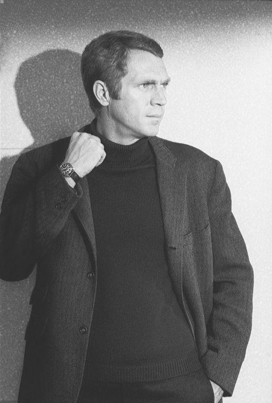 themaninthegreenshirt:  Steve McQueen