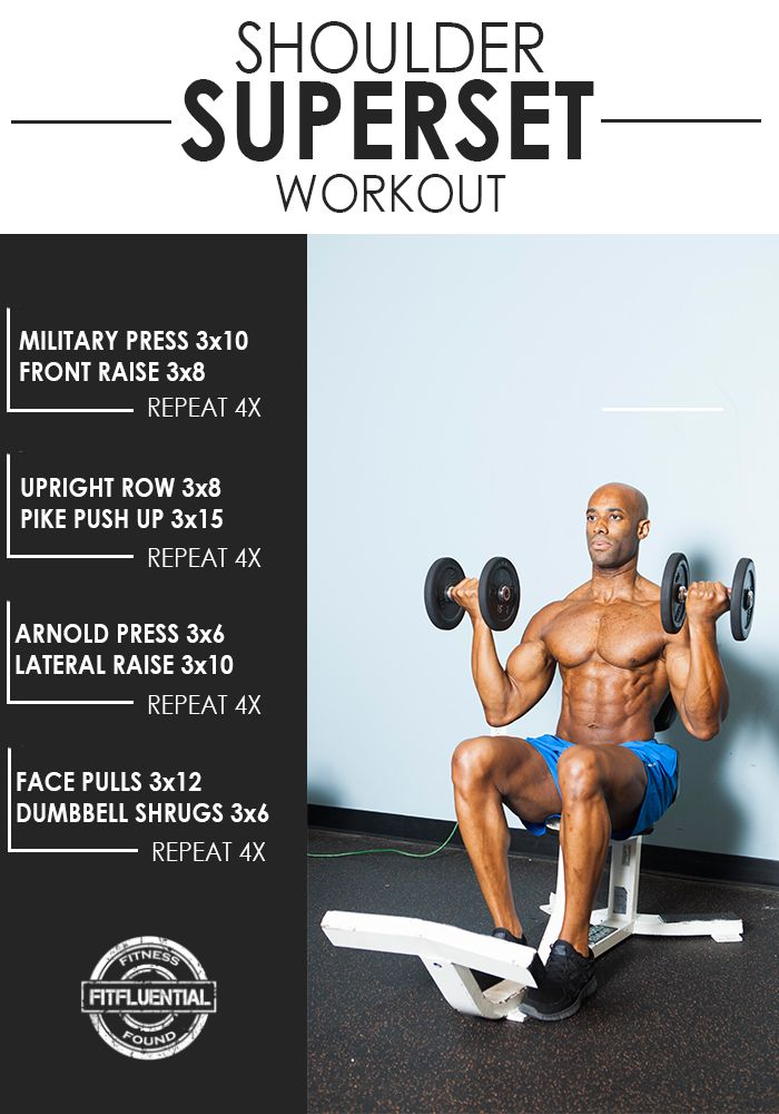 shoulder superset