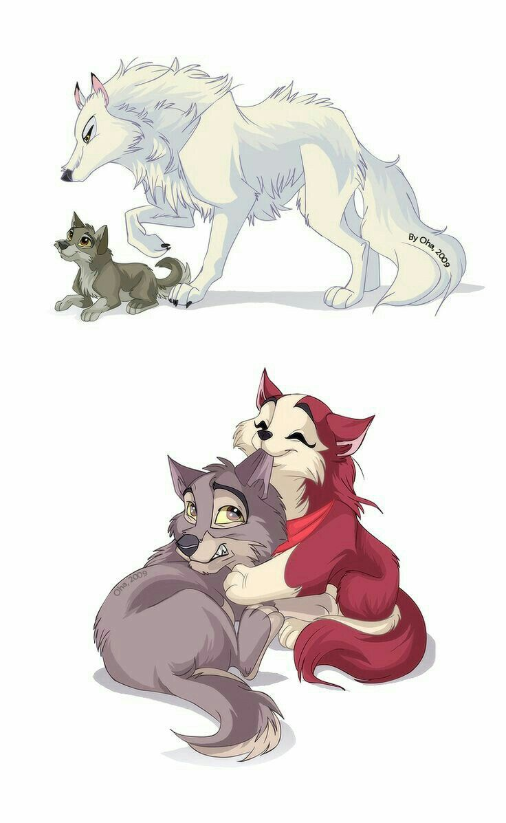 There is a group of people with wolves. They all interact with each other in peace.
