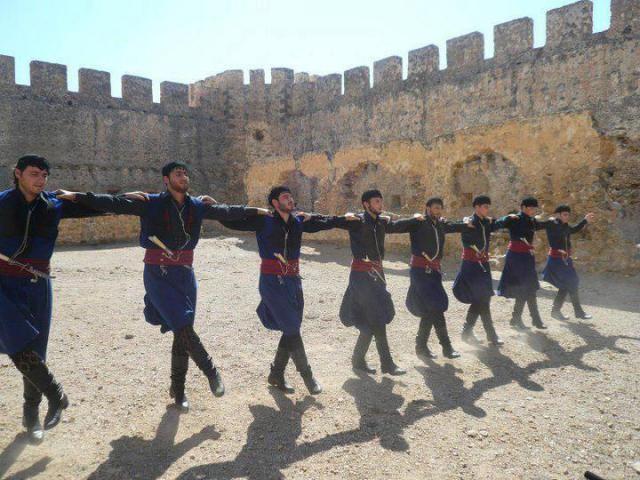 Cretan dancers, Greece