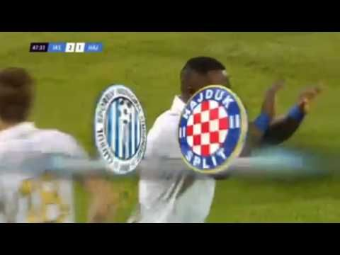 Franck Ohandza Goal ● CSMS Iasi vs HNK Hajduk Split ● UEFA Europa League 14/07/2016 - YouTube