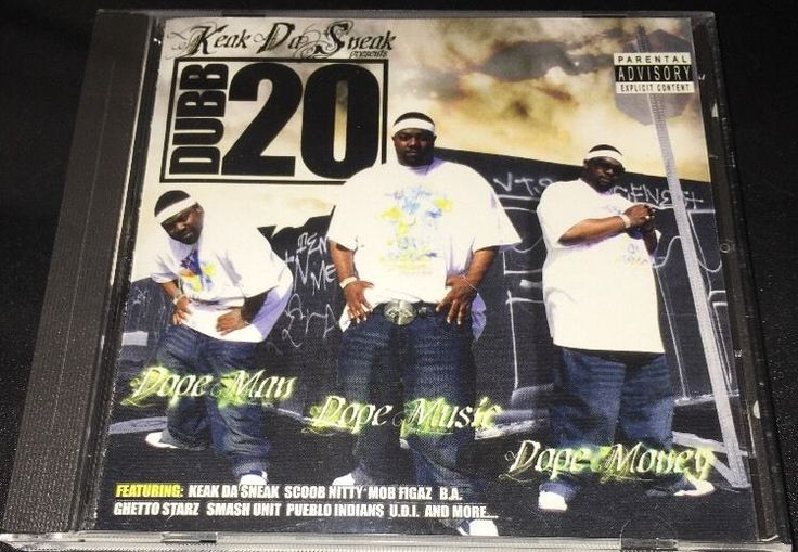 Keak Da Sneak Presents Dubb 20 Dope Man Dope Music Dope Money Bay Area G Funk   eBay