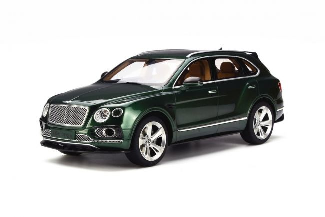 GT Spirit has grown a strong name for itself in building some of the coolest resin models and yet holds them to a reasonable price. Aficionados in particular should make sure they're familiar with the manufacturer, given their breadth of scale model cars… just like this Bentley Bentayga Sport Package.    <em>– Bill@ChoiceGear</em>