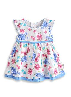 Pumpkin Patch kids fashion spring/summer collection 2013 big rose dress