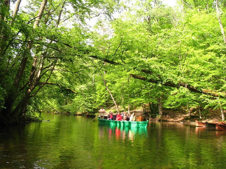 Piękna rzeka Krutynia z pychówkami.