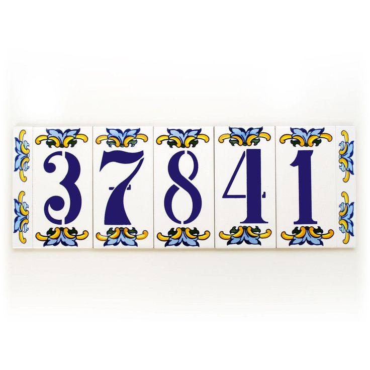 Simply awesome Glazed door number plaque, Spanish door number plaque, Customized door number plaque, Door number plaque, Customized front porch decor. Find it in my shop ✨ https://www.etsy.com/listing/517117566/glazed-door-number-plaque-spanish-door?utm_campaign=crowdfire&utm_content=crowdfire&utm_medium=social&utm_source=pinterest
