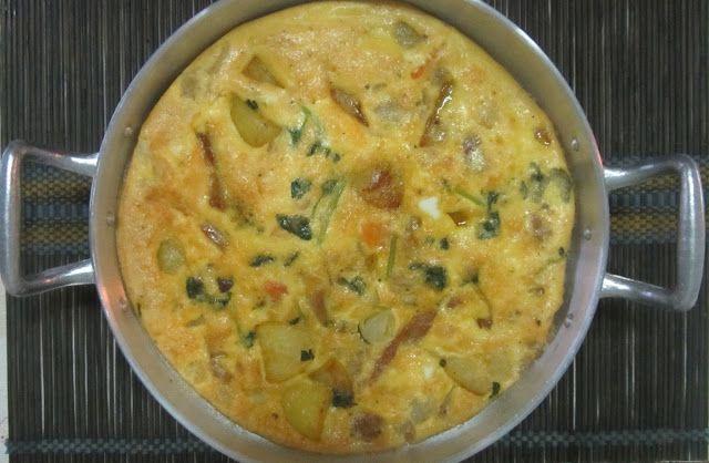 A Casinha das Bolachas: Omelete no Forno. Aproveitamentos