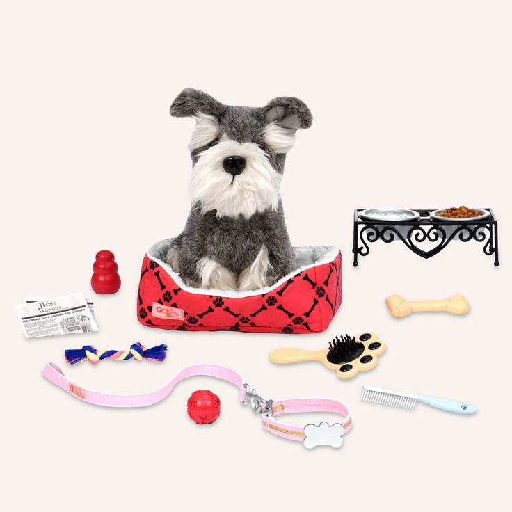 Pet Care Playset OG Accessory Set from Our Generation World- Pamper the puppy of your Our Generation family. Happy friends are what life is all about.