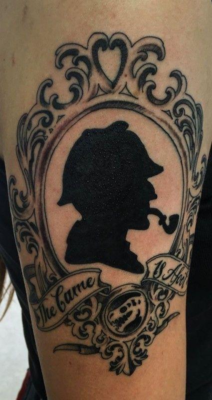Sherlock Holmes Tattoo On Pinterest
