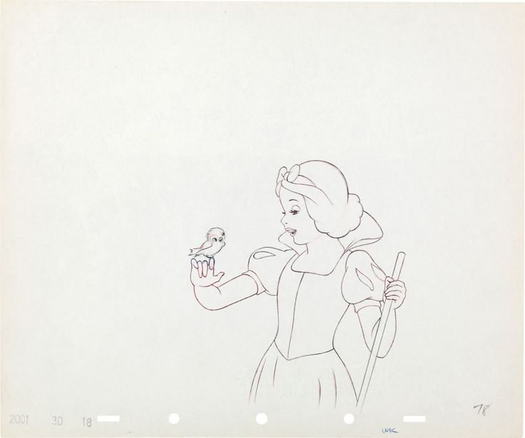 Filmic Light - Snow White Archive: Original Snow White Production Drawings