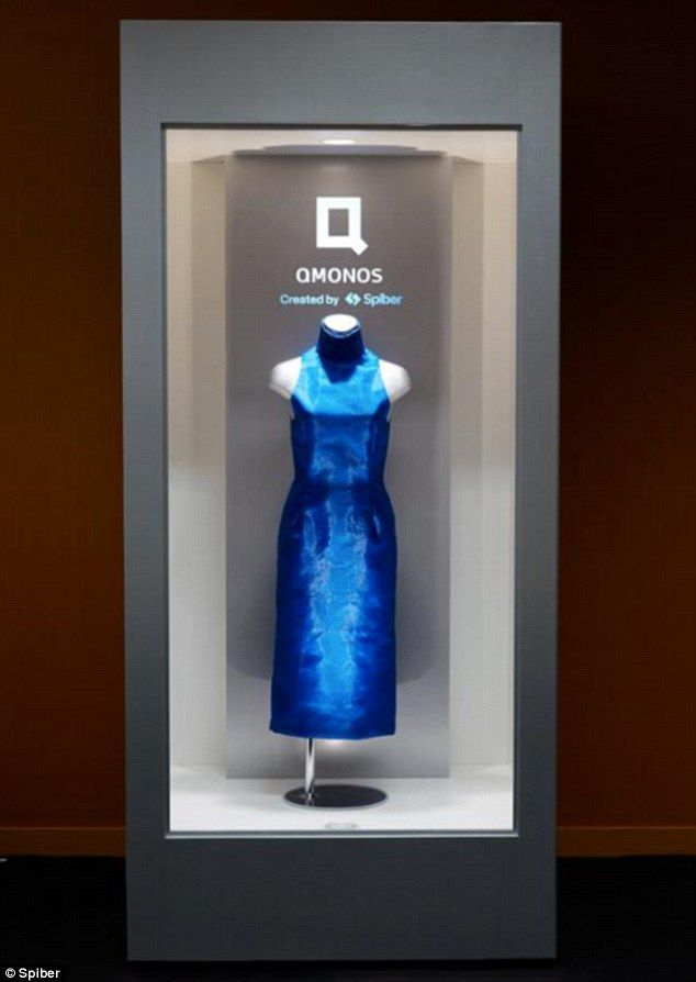 The Ultra Strong Dress Made From Synthetic Spider Silk