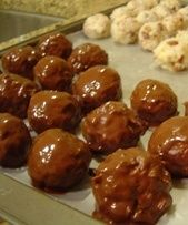 Chocolate Covered Coconut Balls - Almond joy balls