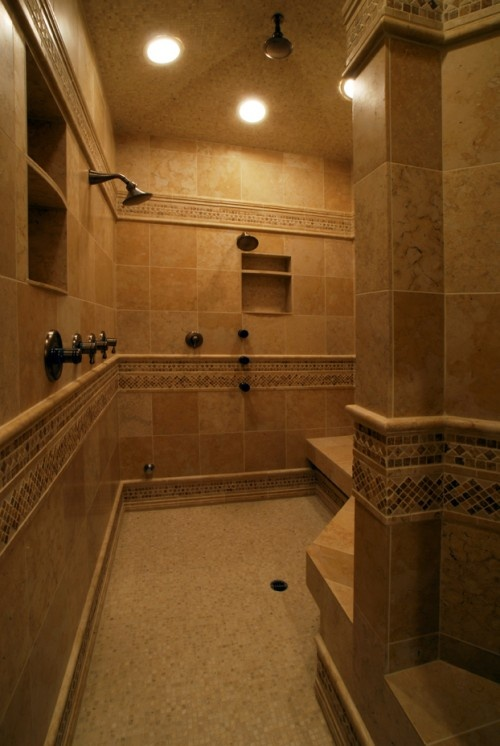 17 best ideas about huge shower on pinterest dream shower master bathroom shower and master for Big showers for small bathrooms