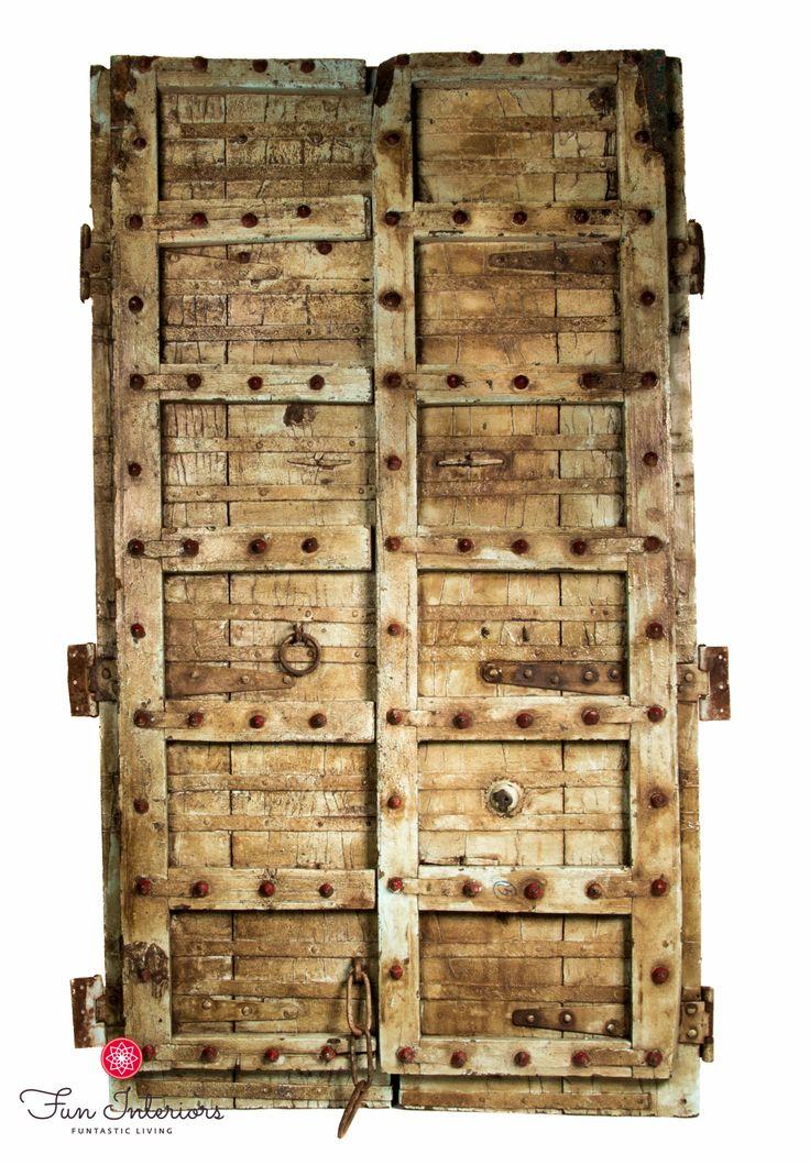 Original old doors