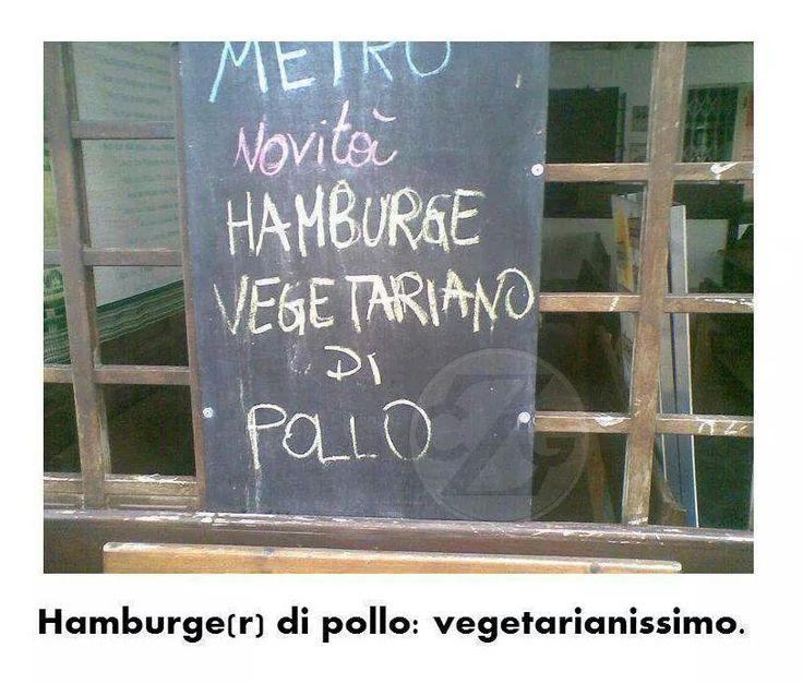 Hamburge(r) vegetariano di pollo