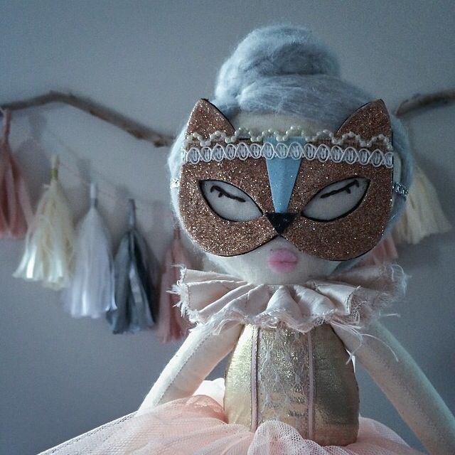 Nikki the kitty rag doll