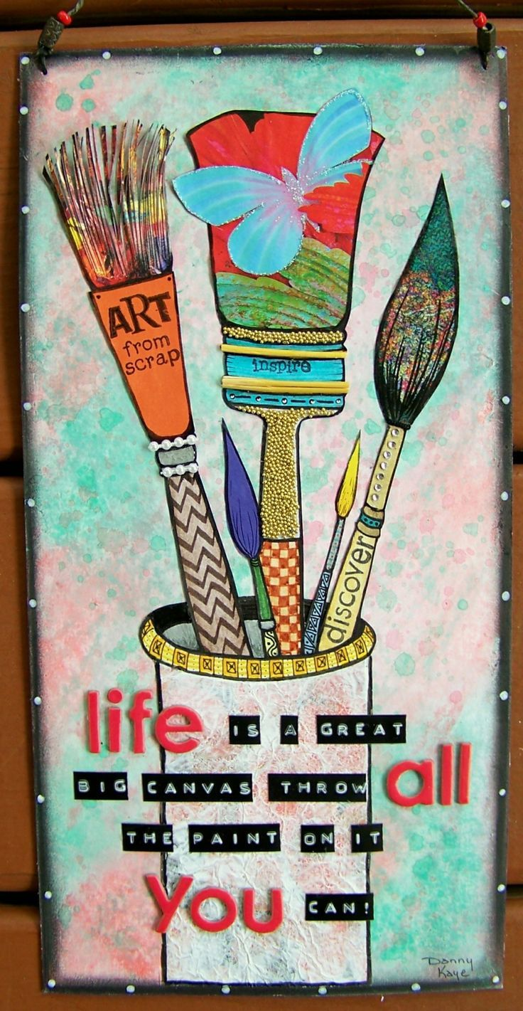 SOLD - Mixed media canvas , art, wall hangings,quotes