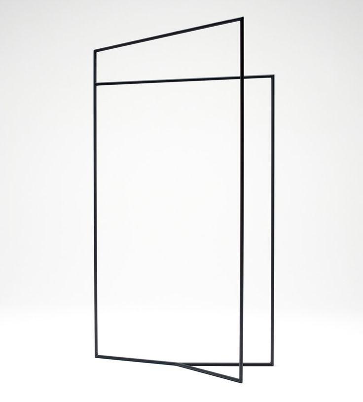 Thin Black Lines by Nendo