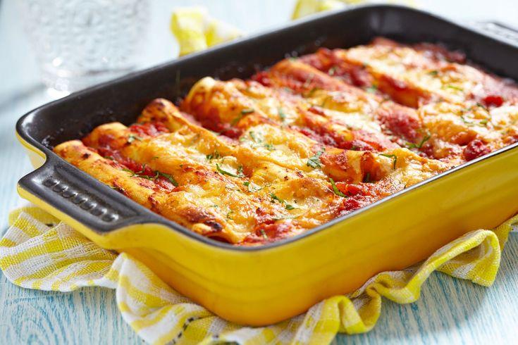 Gyúrt tésztás cannelloni húsos töltelékkel Recept képpel - Mindmegette.hu - Receptek