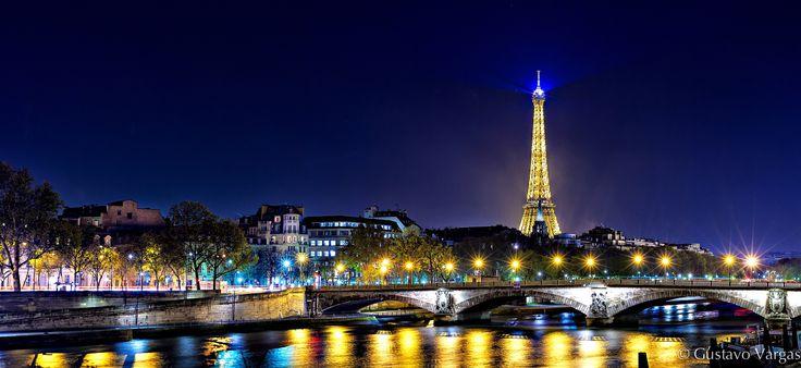 Фотография City of Lights автор Gustavo Vargas на 500px
