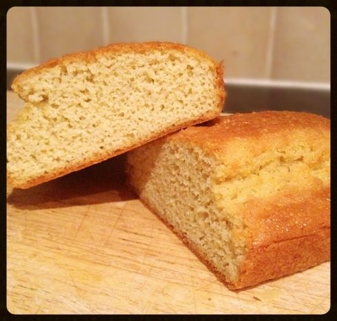 Keto Bread  3 large eggs 75g ground almonds 1.5tsp baking powder Large knob of butter