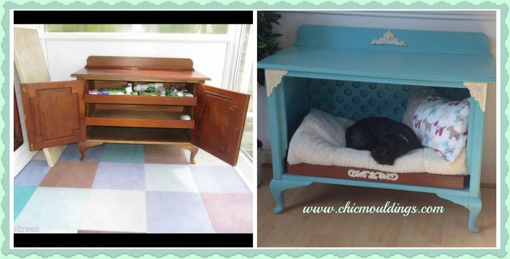 1000 images about dog beds on pinterest vintage for Schon diy shabby chic pet bed