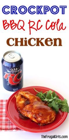 Crockpot BBQ RC Cola Chicken Recipe! ~ from TheFrugalGirls.com ~ just ...