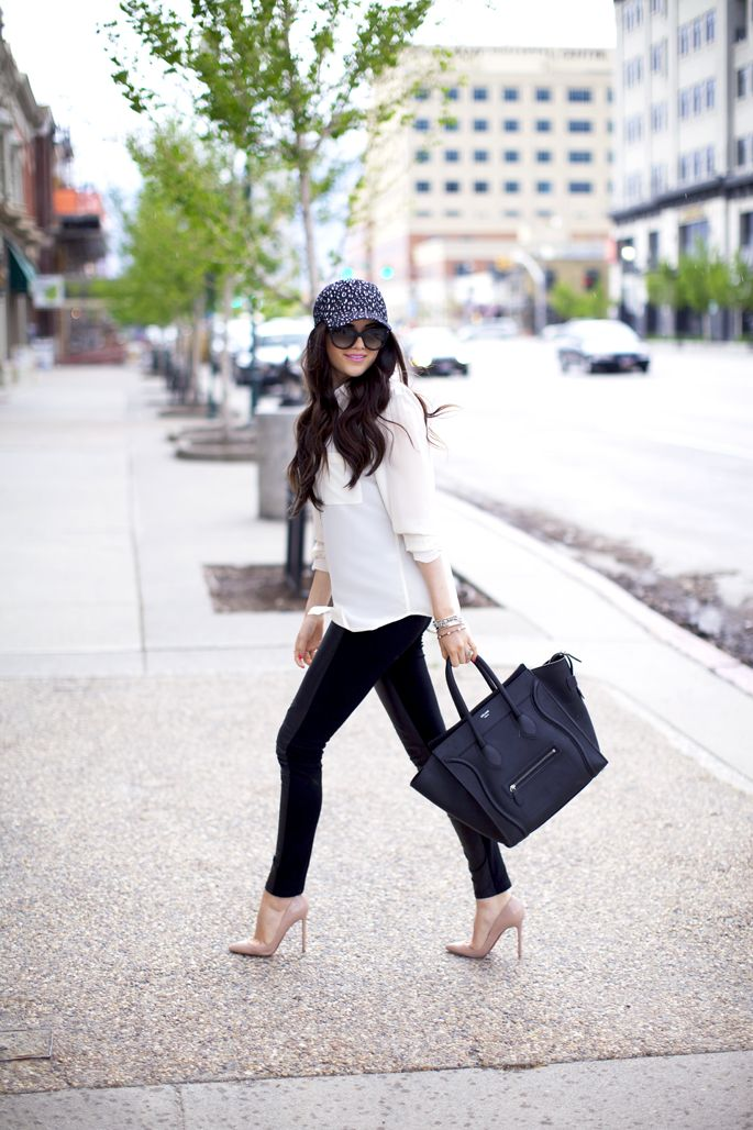 How To Wear Baseball Caps: Taught By Bloggers | StyleCaster